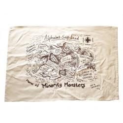 Alphabet Soup Land Tea Towel