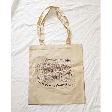 Alphabet Soup Land Tote Bag