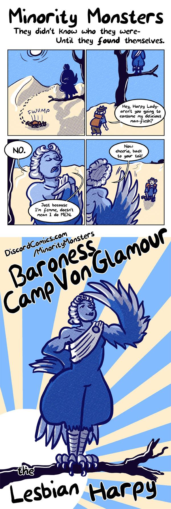 Baroness Camp Von Glamour