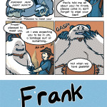 Frank the submissive yeti