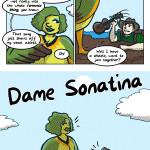 Dame Sonatina the Aromantic Siren