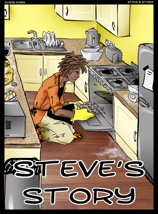 Khaos Komix Chapter 1 Cover- Steve's Story