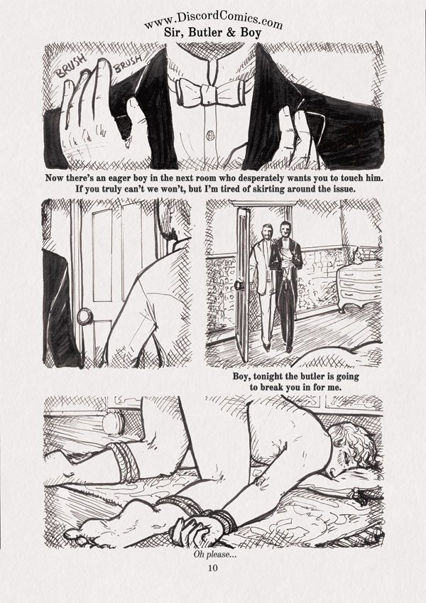 Sir, Butler and Boy ~ Morning Ablutions ~ Page 10