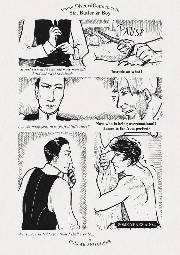 Sir, Butler and Boy ~ Collar and Cuffs ~ Page 9