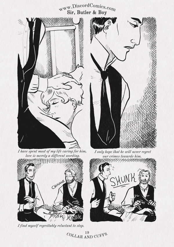 Sir, Butler and Boy ~ Collar and Cuffs ~ Page 19