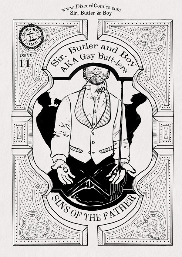 Sir, Butler and Boy ~ Sins of the Father ~ Cover