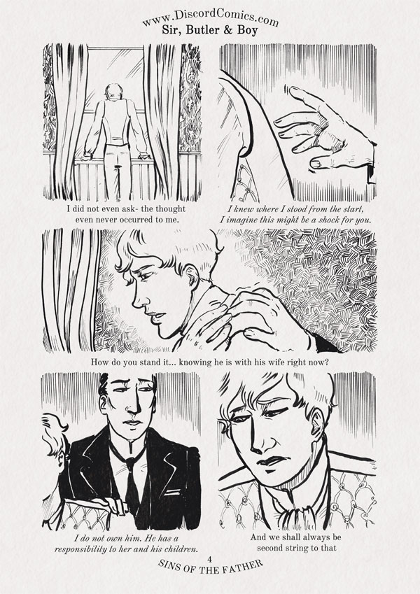 Sir, Butler and Boy ~ Sins of the Father ~ Page 4