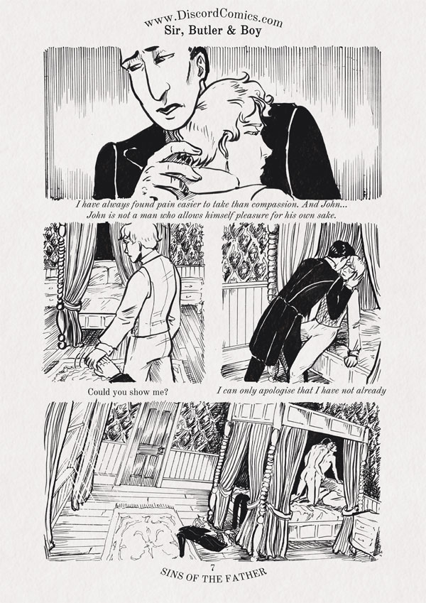 Sir, Butler and Boy ~ Sins of the Father ~ Page 7