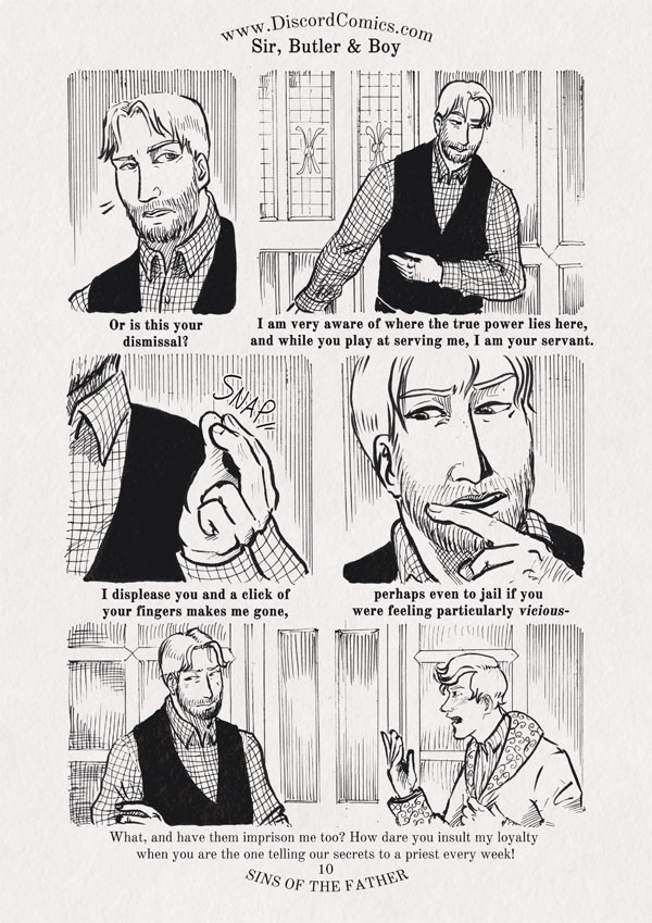 Sir, Butler and Boy ~ Sins of the Father ~ Page 10