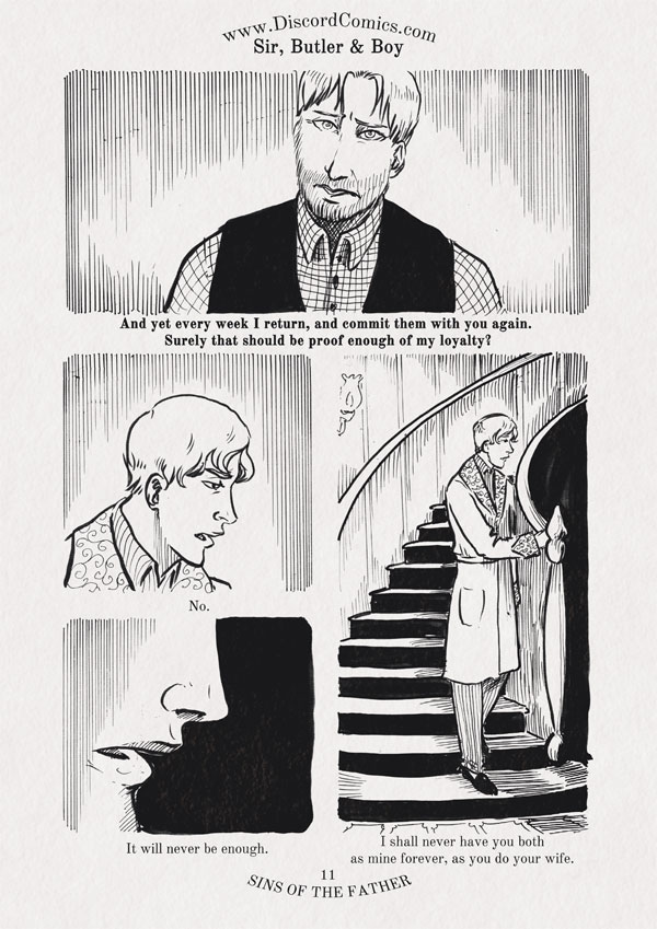Sir, Butler and Boy ~ Sins of the Father ~ Page 11