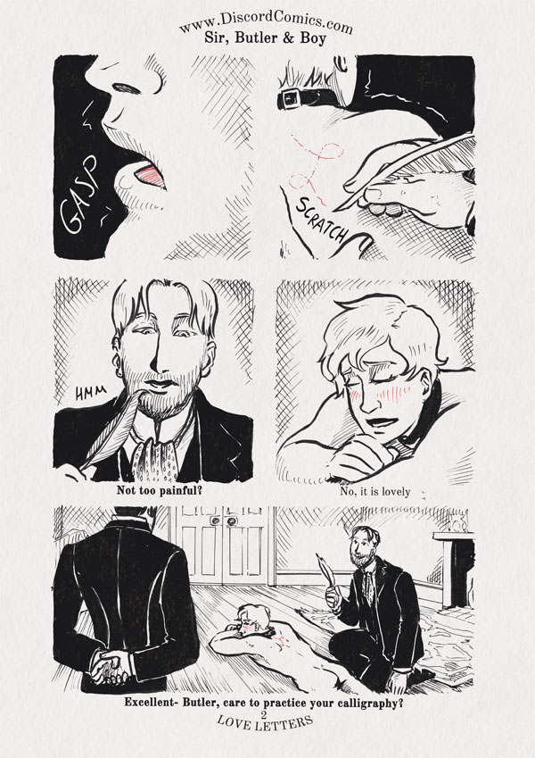 Sir, Butler and Boy ~ Love Letters ~ Page 2