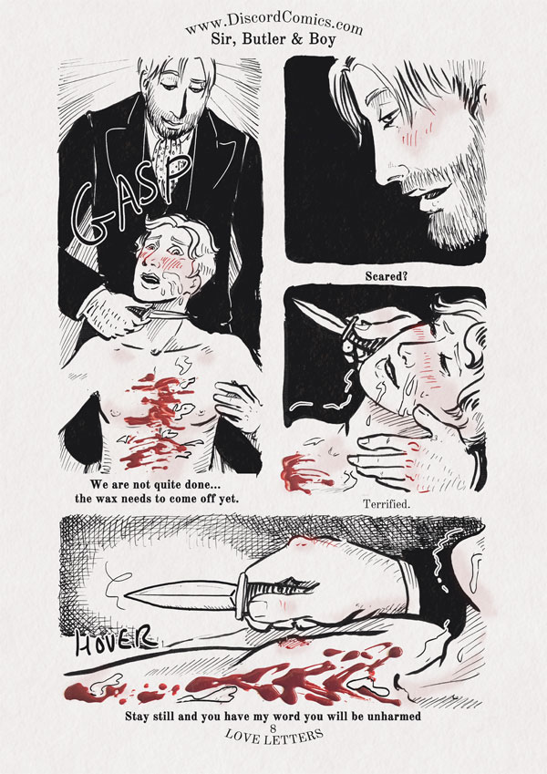 Sir, Butler and Boy ~ Love Letters ~ Page 8