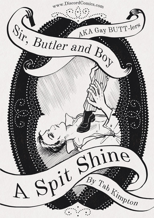 Sir, Butler and Boy ~ A Spit Shine ~ Cover