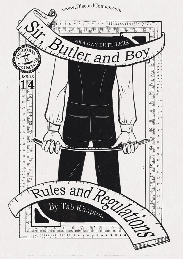 Sir, Butler and Boy ~ Rules and Regulations ~ Cover