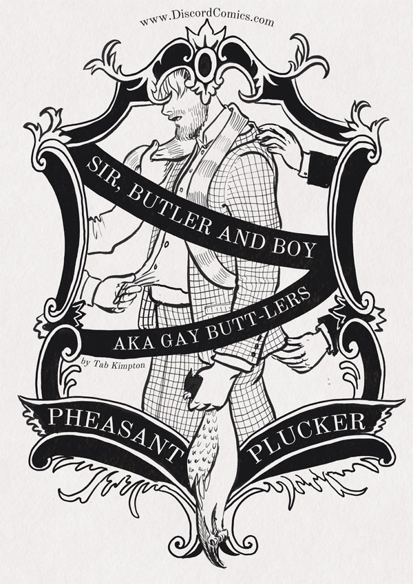 Sir, Butler and Boy ~ Pheasant Plucker ~ Cover