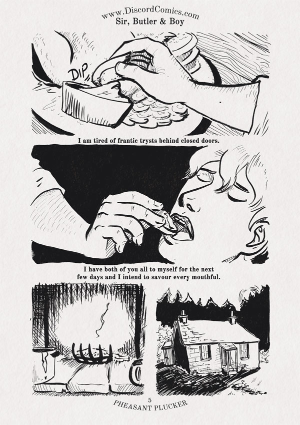 Sir, Butler and Boy ~ Pheasant Plucker ~ Page 5