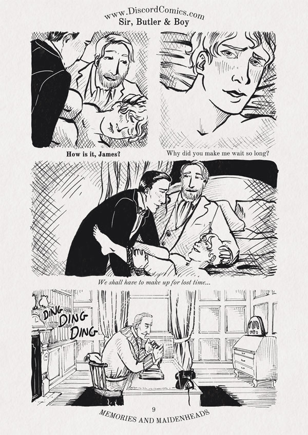 Sir, Butler and Boy ~ Memories and Maidenheads ~ Page 9