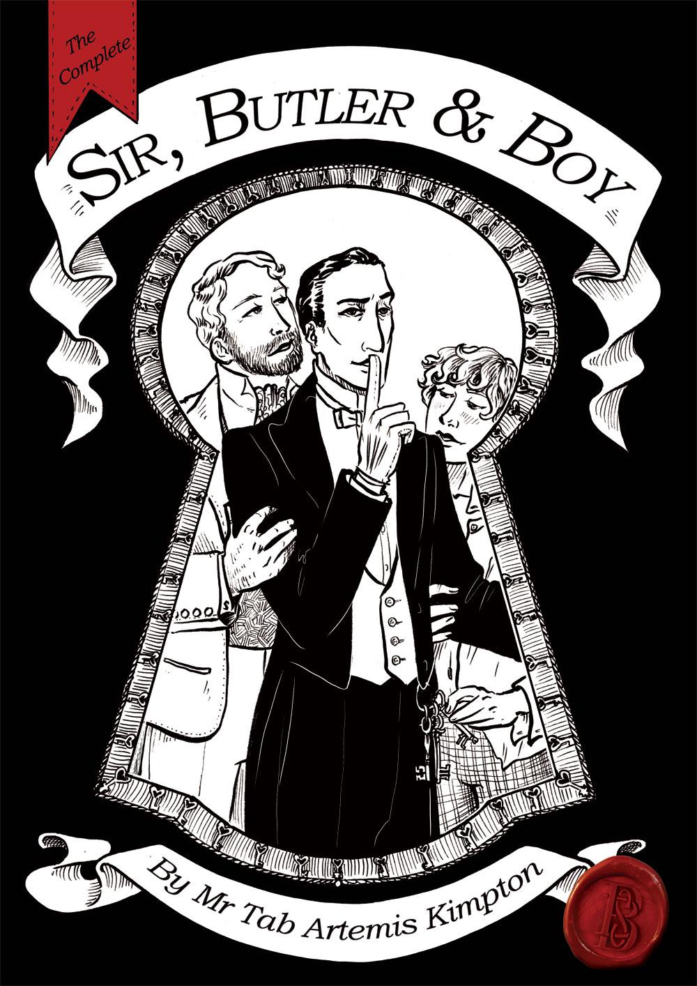 Sir Butler and Boy ~ Book Cover